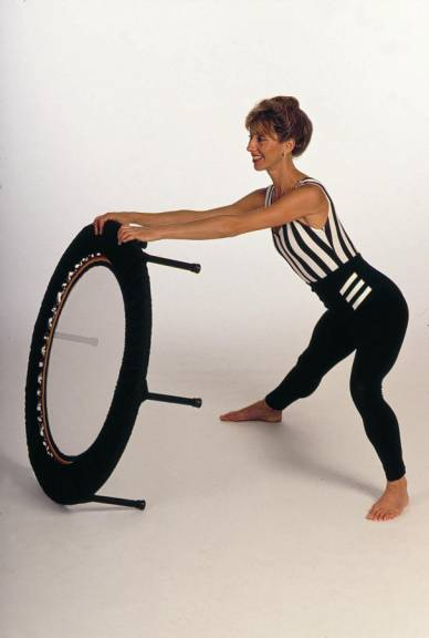 Use rebounding exercise workouts within 5 star fitness mini trampoline programmes
