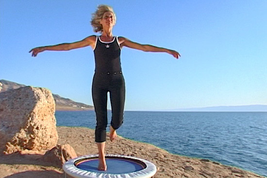 My mini trampoline rebounding workout videos are filmed outdoor in glorious locations to being the spirit of the worlds most delightful locations into your workouts at home.