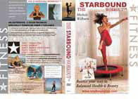The Starbound workout mini trampoline rebounding exercise workouts on DVD