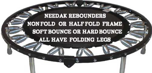 Needak rebounders are the best rebounders in the USA for Starbound rebounder exercise workouts