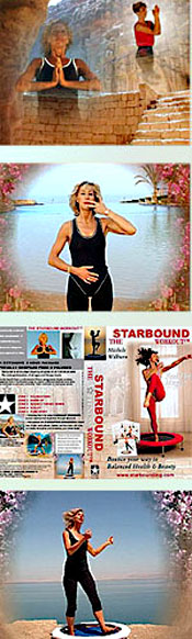 Starbound Workout rebounding exercise DVD