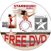 Get a free Starbound Workout mini trampoline DVD containing all reboounding exercise workouts in the Starbound series when you order a quality Needak rebounder - Needak are the best rebounders in the USA