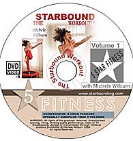 Starbound Workout mini trampoline rebounder exercise DVDs and books provide a complete package for Needak rebounder workouts at home.
