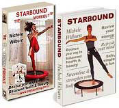 Starbound DVDs and books are included in Needak rebounder package options when you purchase the best quality rebounders in the USA