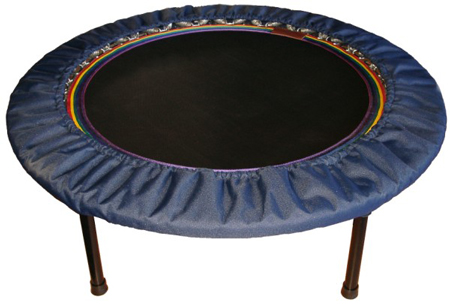 Purchase lymphaciser rebounders -  best quality mini trampoline rebounders in Australia and New Zealand with Starbound mini trampoline workout books and videos