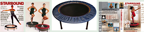 Best quality mini trampoline rebounder delivered to you from NZ - a unique Radial harmonic lymphaciser rebounder - the RH48 Rainbow lymphaciser rebounder