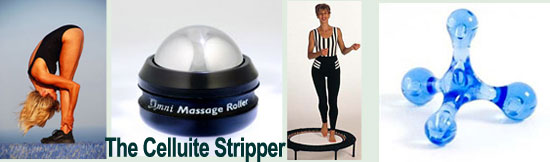 Get rid of  cellulite with Starbounds mini trampoline rebounder wokrout resolution plan