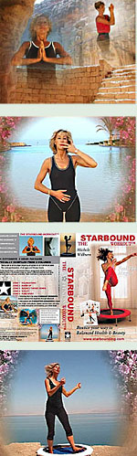Starbound mini trampoline rebounder exercise DVDs are now available in Pal and NTSC format for worldwide delivery