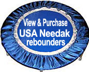 View and purchase Starbound Workout DVD Needak rebounder packages