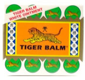 tiger balm relieves many ailments, warming the circulation
