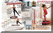 Starbounds mini trampoline  rebounding exercise DVDS and rebounding book provide a complete series of workouts for home exercise on mini trampolines