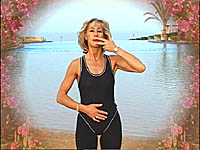 Ue essential oils during mini tampoline rebounding exercise DVD workouts to lift your mood.